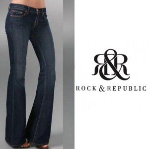 Rock & Republic Roth Flare Bottom Jeans 32